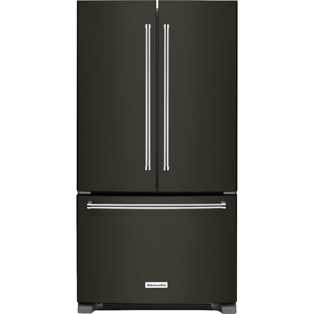 Ft. French Door Refrigerator   Black Stainless Steel At Pacific Sales
