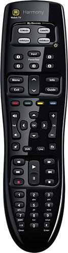 Logitech - Harmony 350 8-Device Universal Remote - Black