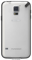 PureGear - Slim Shell Case for Samsung Galaxy S 5 Cell Phones (AT&T, Verizon Wireless, Sprint) - Clear/Black