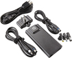 HP - 65W Slim AC Adapter for Select HP Laptops - Black