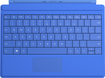 Microsoft - Type Cover for Microsoft Surface 3 - Bright Blue