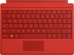 Microsoft - Type Cover for Microsoft Surface 3 - Bright Red