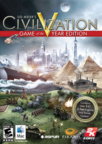 MAC-CIVILIZATION V GAME...