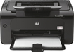HP - LaserJet Pro P1102w Wireless Black-and-White Printer - Black