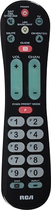 RCA - 2-Device Universal Remote - Black