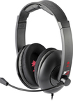 Turtle Beach - Ear Force Z11 Over-the-Ear Gaming Headset - Black/Red