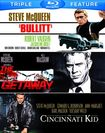 Bullitt/the Cincinnati Kid/the Getaway [blu-ray] 5485185