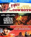 The Cowboys/the Green Berets/the Searchers [3 Discs] [blu-ray] 5485194