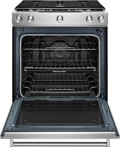 KitchenAid   5.8 Cu. Ft. Self Cleaning Slide In Gas Convection Range