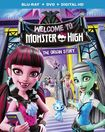Monster High: Welcome To Monster High [blu-ray/dvd] [2 Discs] 5495326