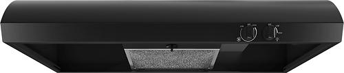 "Whirlpool - 30"" Convertible Range Hood - Black"