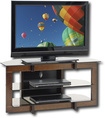 "Insignia™ - TV Stand for Most Flat-Panel TVs Up to 42"" - Brown"