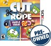 Cut the Rope: Triple Treat - PRE-OWNED - Nintendo 3DS