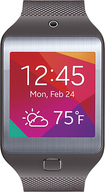 Samsung - Gear 2 Neo Smartwatch with Heart Rate Monitor - Mocha Gray
