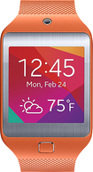 Samsung - Gear 2 Neo Smart Watch with Heart Rate Monitor - Orange
