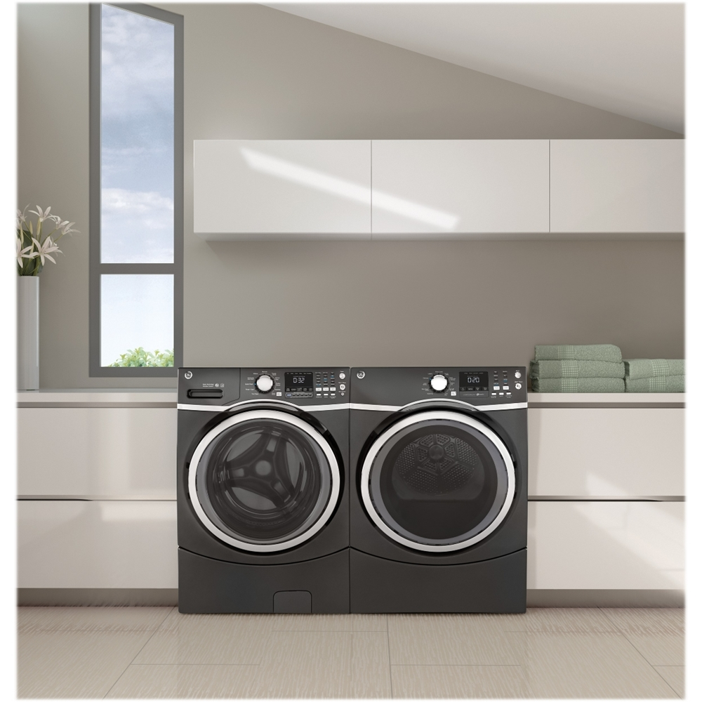 Ft. 13 Cycle Gas Dryer With Steam   Diamond Gray At Pacific Sales
