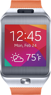 Samsung - Gear 2 Smart Watch with Heart Rate Monitor - Orange