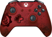Microsoft - Gears Of War 4 Crimson Omen Limited Edition Wireless Controller For Xbox - Red Metallic 5507899