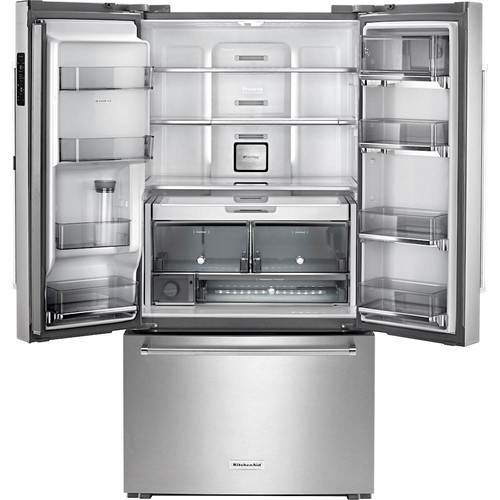 Terrific Kitchenaid 23 7 Cu Ft French Door Counter Depth Beutiful Home Inspiration Ommitmahrainfo