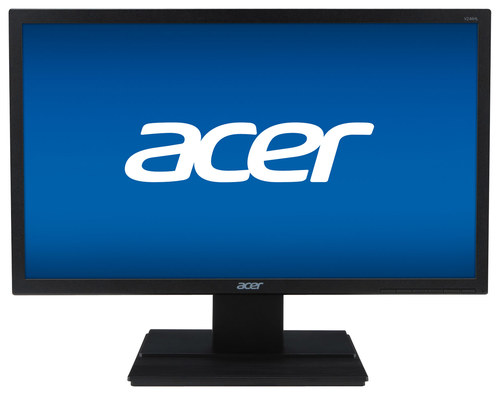 Acer - 24 LED HD Monitor - Black