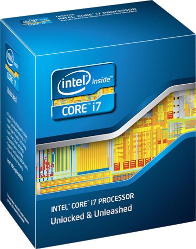 Intel® - Core™ i7-3770K Processor - Blue
