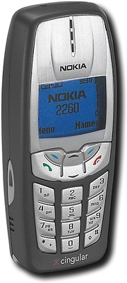 Nokia TDMA Phone with E-mail and Text Messaging (Cingular)