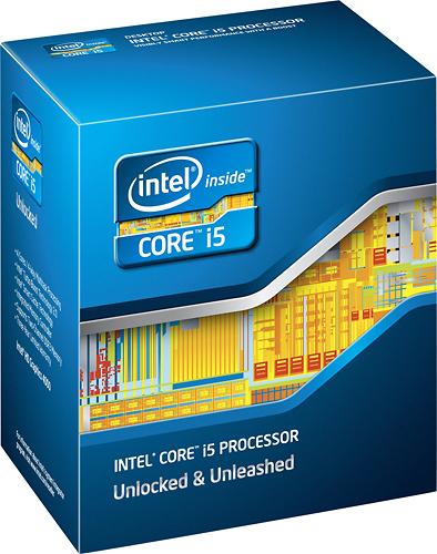 Intel® - Core™ i5-3570K Processor - Blue