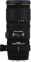 Sigma - 70-200mm f/2.8 APO EX Telephoto Zoom Lens for Sony DSLR Cameras - Black