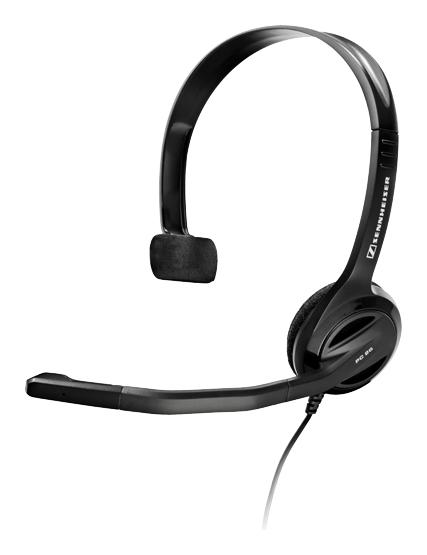 Sennheiser - PC 26 Call Control Over-the-Ear Headset - Black