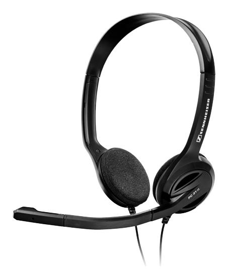 Sennheiser - PC 31-II Over-the-Ear Headset - Black