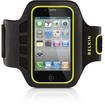Belkin - EaseFit Carrying Case for Apple iPhone4/4S and iPod Touch - Black, Limelight