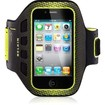 Belkin - Easefit Sport Armband For Iphone 4s - Black, Limelight