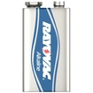 Rayovac - 9v Batteries  - Silver/blue