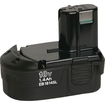 Hitachi - Rechargeable18v Battery For Selected Hitachi Power Tools - Black 5524001