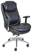 Serta - Wellness by Design AIR Series 200 Task Chair - Black