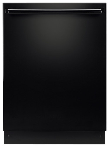 "Electrolux - 24"" Tall Tub Built-In Dishwasher with Stainless-Steel Tub - Black"