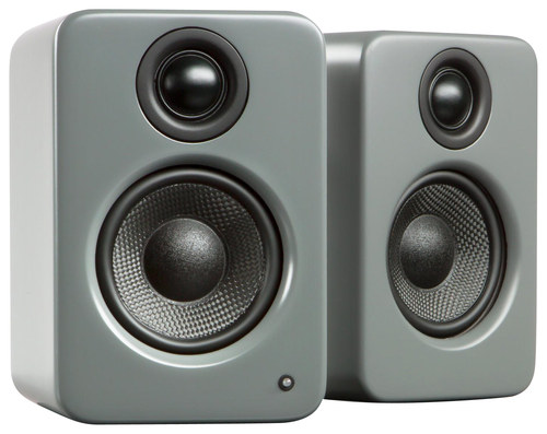 Kanto - YU2 3 2-Way Powered Desktop Speakers (Pair) - Matte Gray