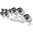 Swann - 8-Channel, 8-Camera Indoor/Outdoor Wired