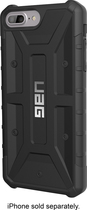 Urban Armor Gear - Pathfinder Case For Apple Iphone 6s Plus And 7 Plus - Black