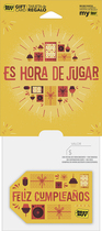 Best Buy GC - $25 Birthday Spanish Es Hora De Jugar Gift Card