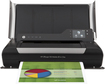 HP - Officejet 150 Mobile Wireless All-In-One Printer - Black/Gray