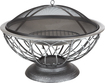 """Fire Sense - 30"""" Stainless-Steel Urn Fire Pit - Pewter"""