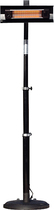 Fire Sense - Pole-Mounted Infrared Patio Heater - Black