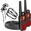 Uniden - 30-Mile, 22-Channel FRS/Gmrs 2-Way Radio (Pair) - Red/Black