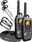 Uniden - 50-Mile, 22-Channel FRS/GMRS 2-Way Radio (Pair) - Silver/Black