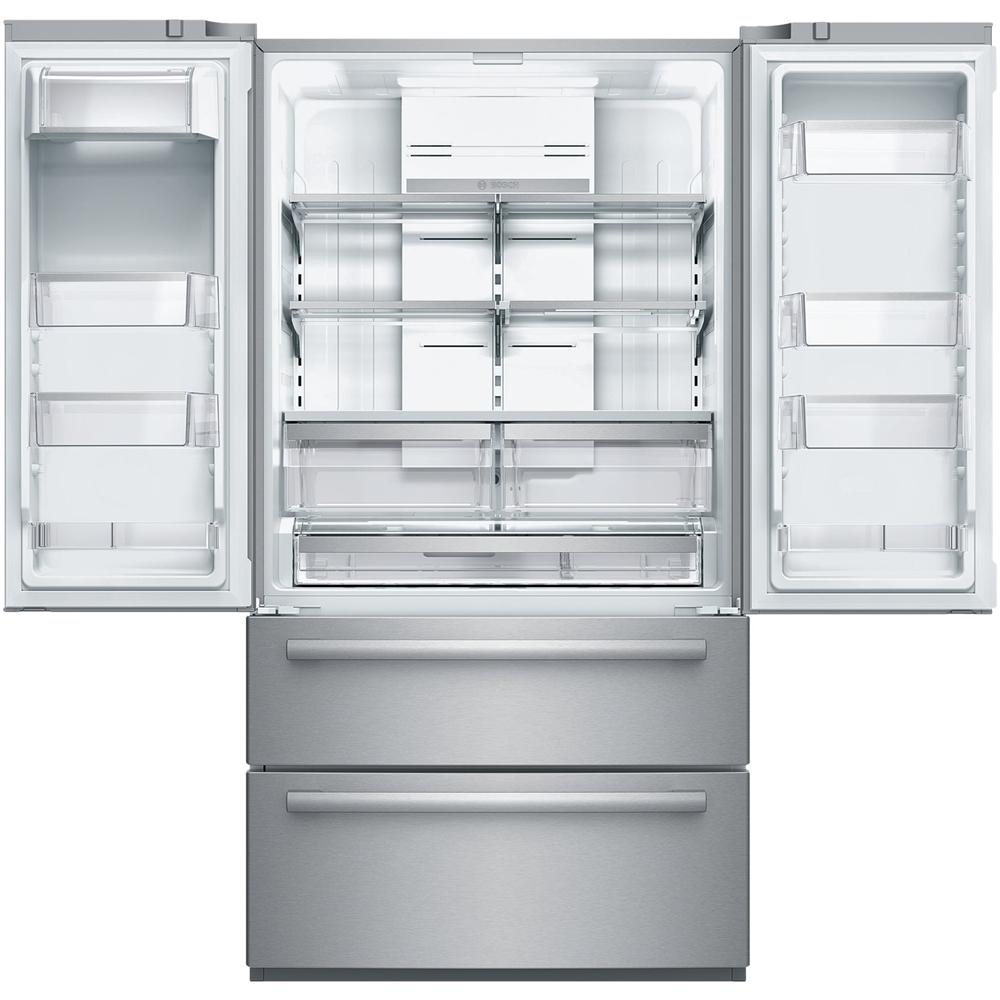 Wonderful Bosch   800 Series 20.7 Cu. Ft. 4 Door French Door Counter Depth  Refrigerator   Stainless Steel At Pacific Sales