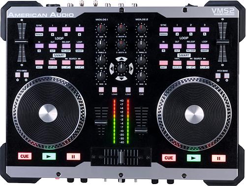 American Audio - 2-Channel MIDI Controller - Black