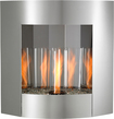 Outdoor GreatRoom Company - Inspiration Wall-Hanging Gel Fireplace - Stainless-Steel