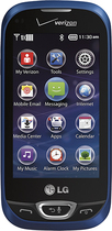 LG - Extravert 2 Cell Phone - Blue (Verizon Wireless)