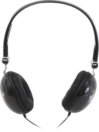 iHip - Superman On-Ear Headphones - Black/Gray